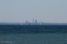 Blick auf Perth - Rottnest Island