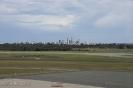 Skyline von Perth vom Flughafen