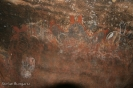 Aborigines Malerei (Rundweg) - Uluru (Ayers Rock)
