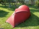 sowie mein Zelt und noch so manches mehr...