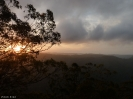 Lamington National Park - Abendstimmung Binna Burra Lodge